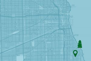 Google Map to the Frederick C. Robie House