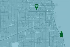 Google Map to United Center