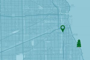 Google Map to White Sox's Guaranteed Rate Field