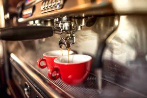 Espresso Machine & Cups