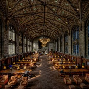 University of Chicago Harper Library