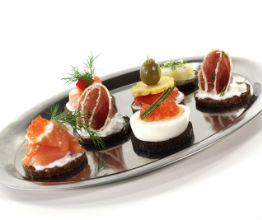 Chicago hotel cold hors d'oeuvres