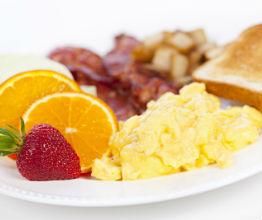 chicago hotel breakfast menu